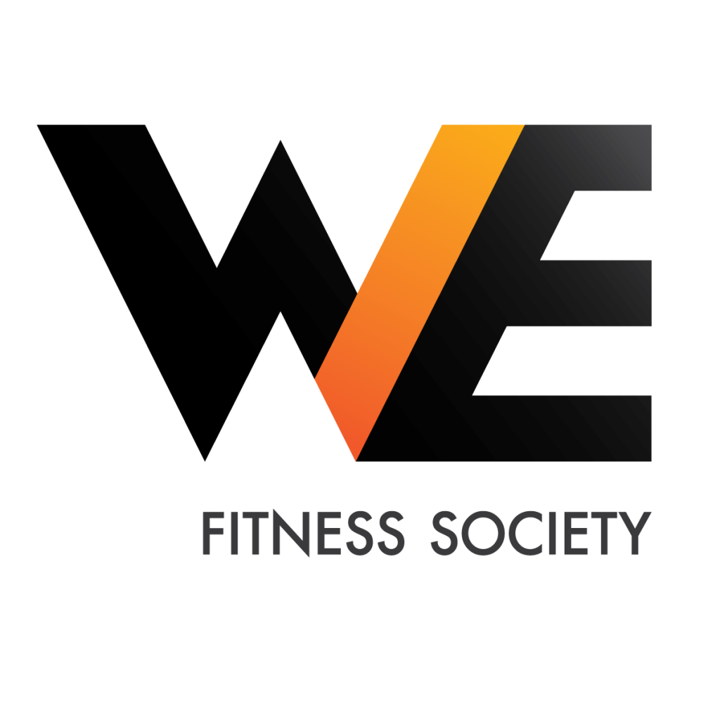 We fitness logo