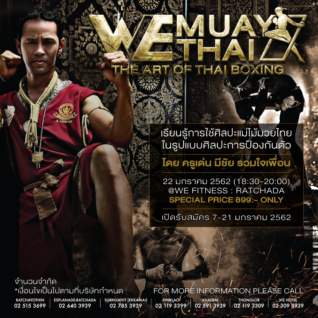 the thai art boxing we fitness